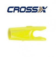 Cross-X pin nock